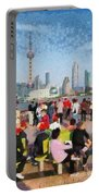 The Bund In Shanghai Portable Battery Charger