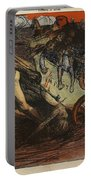 The Burden Of Taxation, Illustration Portable Battery Charger by Eugene Cadel