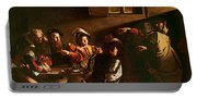 The Calling Of St Matthew Portable Battery Charger