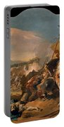 The Capture Of Carthage Portable Battery Charger