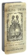 The Carolina Twins, C1869 Portable Battery Charger