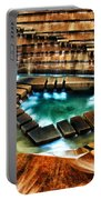 The Cascading Falls - Fort Worth Water Garden  Portable Battery Charger