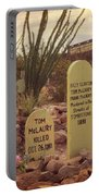 The Cemetery At Boothill Portable Battery Charger