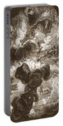 The Chaos, Engraved By Bernard Picart Portable Battery Charger