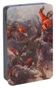 The Charge Of Drury Lowes Cavalry Portable Battery Charger