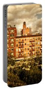 The Chelsea Skyline - High Line Park - New York City Portable Battery Charger