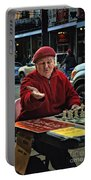 The Chess King Jude Acers Of The French Quarter Portable Battery Charger