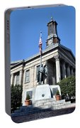 The Chester County Courthouse In West Chester Pa Portable Battery Charger