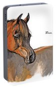 The Chestnut Arabian Horse 2a Portable Battery Charger