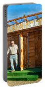The Chicken Poop In Chicken-alaska Portable Battery Charger