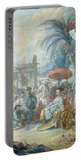 The Chinese Fair, C.1742 Oil On Canvas Portable Battery Charger