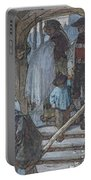 The Christening Gate In Lausanne, C.1861 Portable Battery Charger