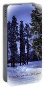 The Christmas Season Portable Battery Charger