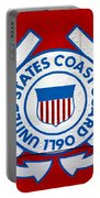 The Coast Guard Shield Portable Battery Charger