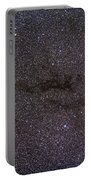 The Cocoon Nebula In The Constellation Portable Battery Charger by Alan Dyer
