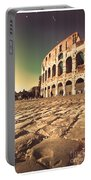 The Coliseum In Rome Portable Battery Charger