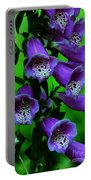 The Color Purple Portable Battery Charger by Kathleen Struckle