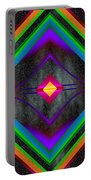 The Colors Of Space Portable Battery Charger
