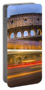 The Colosseum-blue Hour Portable Battery Charger
