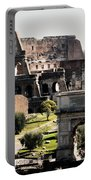 The Colosseum Through The Forum Portable Battery Charger