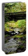 The Coming Of Autumn - Barnes Creek - Lake Crescent - Washington Portable Battery Charger