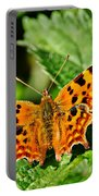 The Comma -- Polygonia C-album Portable Battery Charger