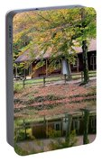 The Commissioners Cabin In Autumn Portable Battery Charger