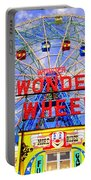 The Coney Island Wonder Wheel Portable Battery Charger