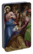The Conversion Of Mary Magdalene Portable Battery Charger