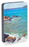 The Cottage View Portable Battery Charger by Candace Lovely