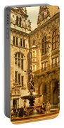 The Court House-hamburg-germany - Between 1890 And 1900 Portable Battery Charger