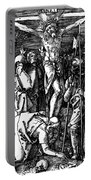 The Crucifixion Portable Battery Charger by Albrecht Durer