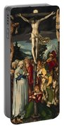 The Crucifixion Of Christ Portable Battery Charger