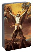The Crucifixion Of St Andrew Portable Battery Charger