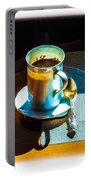 The Cup Of Black Coffee 1 Portable Battery Charger