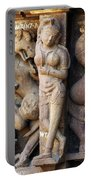 The Dancer In Stone Portable Battery Charger by C H Apperson