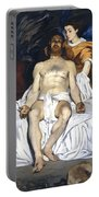 The Dead Christ With Angels Portable Battery Charger