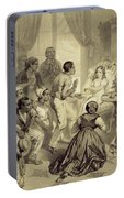 The Death Of Evangeline, Plate 6 Portable Battery Charger