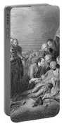 The Death Of General Wolfe, 1759, From The History Of The United States, Vol. I, By Charles Mackay Portable Battery Charger