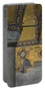 The Deesis Mosaic At Hagia Sophia Portable Battery Charger
