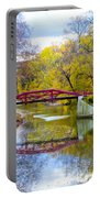 The Delaware Canal Near New Hope Pa In Autumn Portable Battery Charger