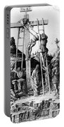The Descent From The Cross Portable Battery Charger by Andrea Mantegna