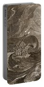 The Dioscuri Protect A Ship, 1731 Portable Battery Charger by Bernard Picart