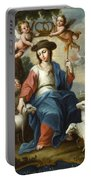 The Divine Shepherdess Portable Battery Charger