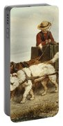 The Dog Cart Portable Battery Charger by Henriette Ronner-Knip