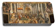 The Donation Of Rome. Portable Battery Charger