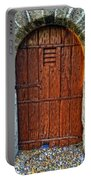 The Door - Vintage Art By Sharon Cummings Portable Battery Charger by Sharon Cummings