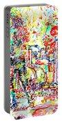 The Doors Live Concert Portrait Portable Battery Charger
