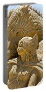 The Dragon And The Goddess Portable Battery Charger