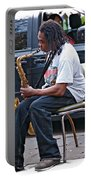 The Dreaded Sax Portable Battery Charger